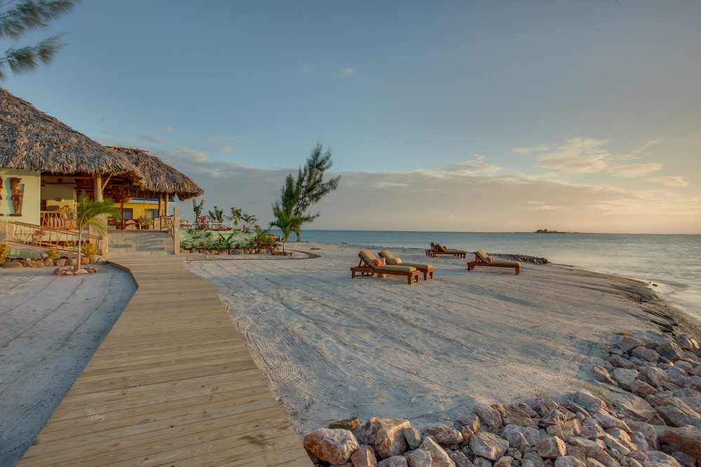 Beach, Little Harvest Caye- Private Island