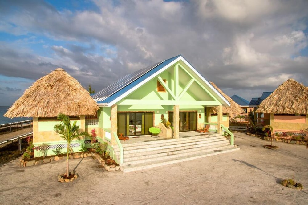 Property Entrance, Little Harvest Caye- Private Island