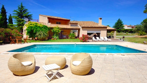 Villa Cicada - Pool, Bbq, Billards, Petanque