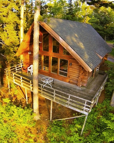 Big Pines Getaway - Log Cabin In Northern Minnesota's Superior National Forest