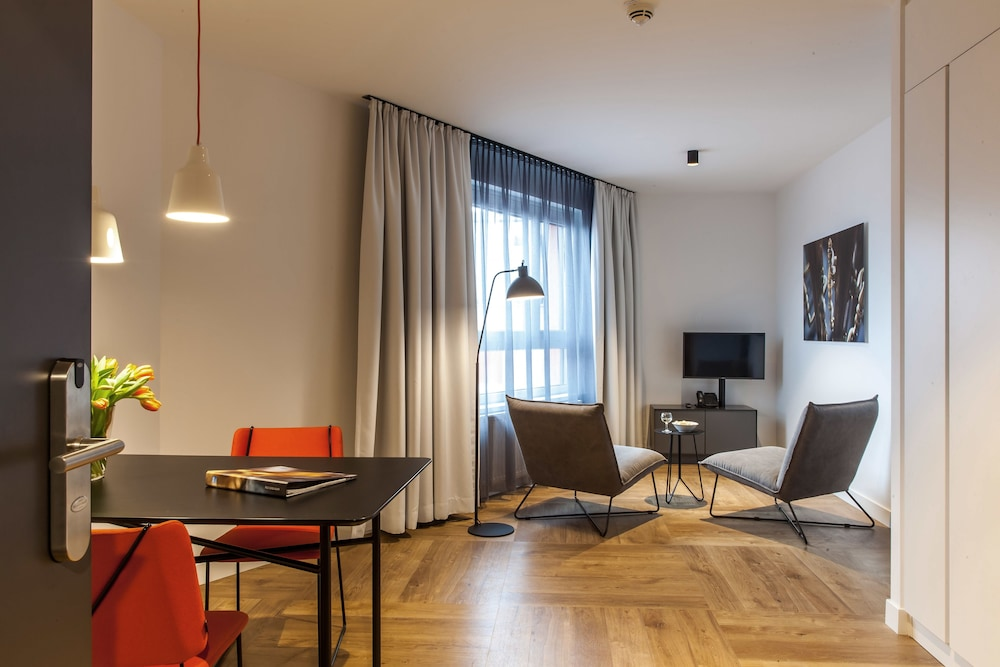 Living Area, SMARTments business Wien Hauptbahnhof