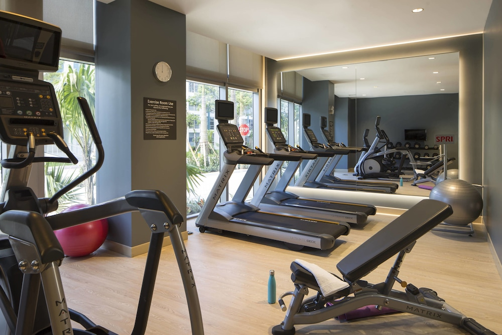 Fitness Facility, Residence Inn by Marriott Miami Sunny Isles Beach