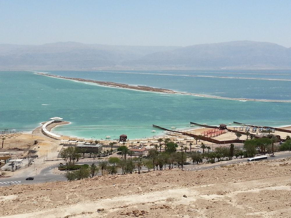 Aerial View, Aloni Neve Zohar Dead Sea