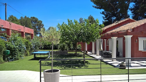 Beautiful Climatized Villa With Beautiful Swimming Pool AND SPA Between SEA AND Hill
