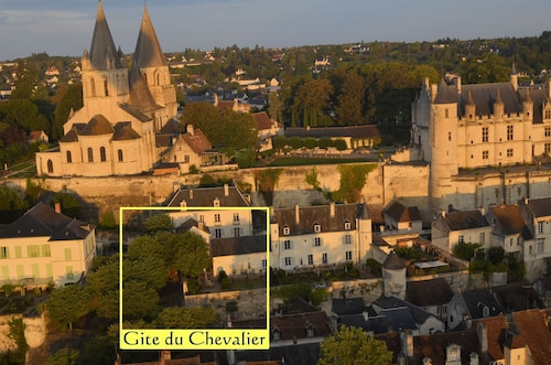 The Gite du Chevalier, Royal City of Loches, in the Heart of the Loire Valley