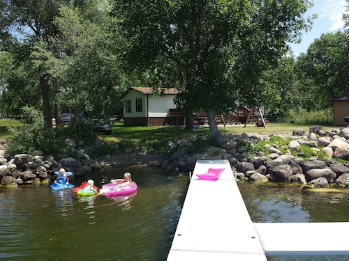 Big Stone Lake Cabin For Rent - New Toys For Spring and Summer!