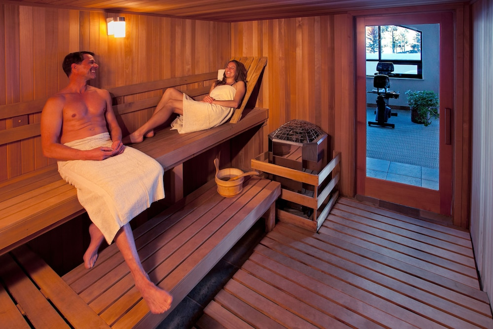 Sauna, The Edelweiss Lodge and Spa