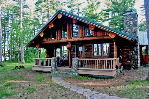 Superior Log Hideaway - Secluded Log Cabin On Pristine Northern Minnesota Lake