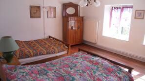 4 chambres, lits bébé