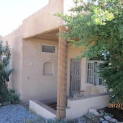 Unique Santa Fe Area Casita on 5 Acres With Great Views and Nice Amenities