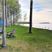 Lake Superior Lodge W/private Lakefront Large Deck, Island Views, Pictured Rocks