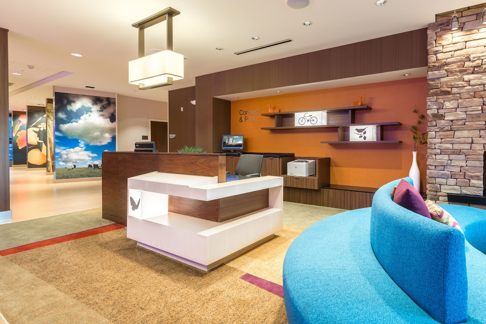 Reception, Fairfield Inn & Suites by Marriott Asheville Tunnel Road