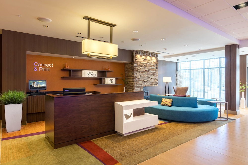 Business Center, Fairfield Inn & Suites by Marriott Asheville Tunnel Road