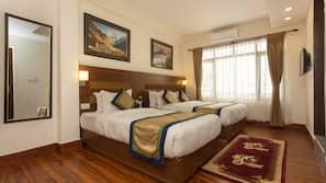 고급 침구, 필로우탑 침대, 객실 내 금고, 각각 다르게 꾸며진