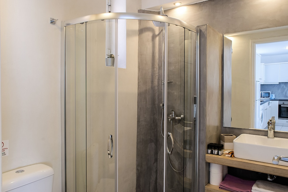 Bathroom, Meli Apartments & Villas