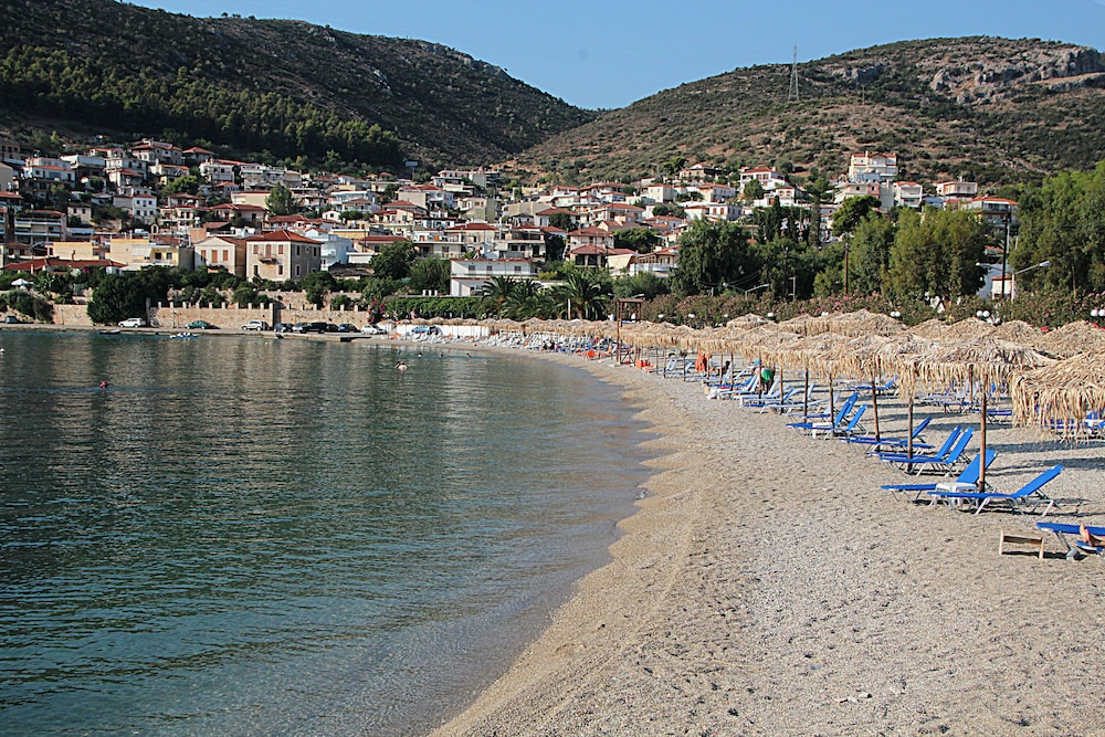 Beach, Meli Apartments & Villas