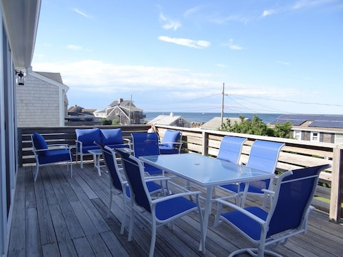 Newly Renovated Cape Beach House With Panoramic Ocean Views