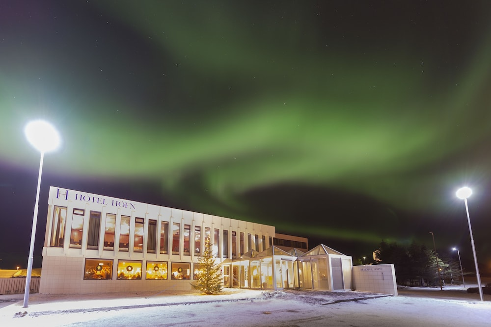 Front of Property - Evening/Night, Hotel Höfn