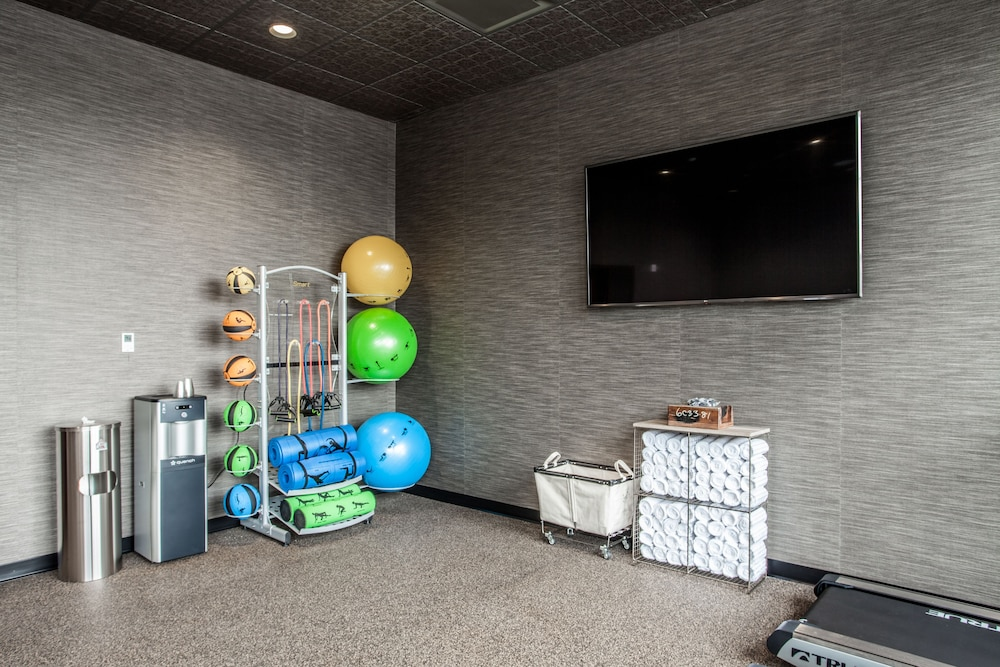 Fitness Facility, Ironworks Hotel Indy
