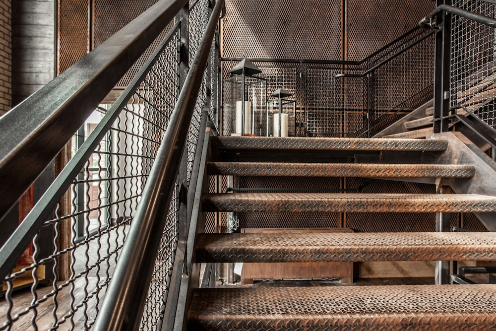 Staircase, Ironworks Hotel Indy