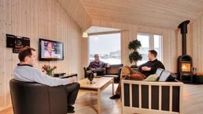 Fernseher, Videospiele, DVD-Player, Stereoanlage