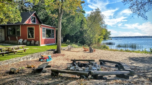 Check Expedia for Availability of A Waterfront Home for All-seasons in Door County!