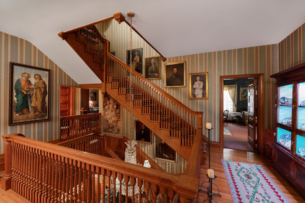 Staircase, The Dempsey Manor Bed & Breakfast Inn
