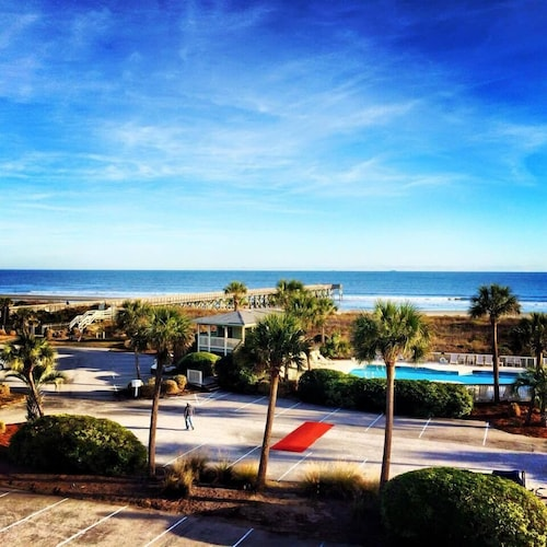 Oceanfront 1 BR Isle of Palms Condo- Breathtaking 3rd Floor Views