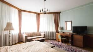 Minibar, in-room safe, desk, free WiFi