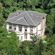 Living Right on the Edge of the Forest of Bad Tabarz in the Spindler Villa