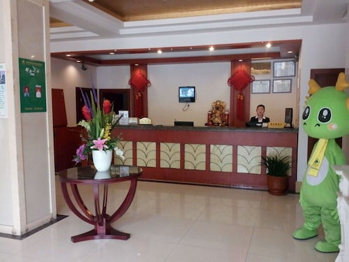 Green Inn Huainan Tianjiaan District Wanda Plaza Express Hotel