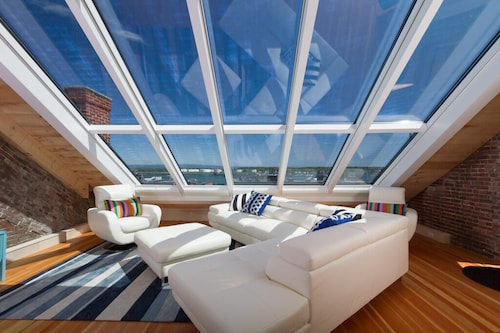 Check Expedia for Availability of Custom Old Port Penthouse W/breathtaking Views + Your Own Cupola. Quiet + Secure