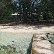 Beach Front Home on Eleuthera Bahamas, Swim, Snorkel, Fish and Kayak