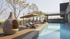室內泳池、季節性室外泳池