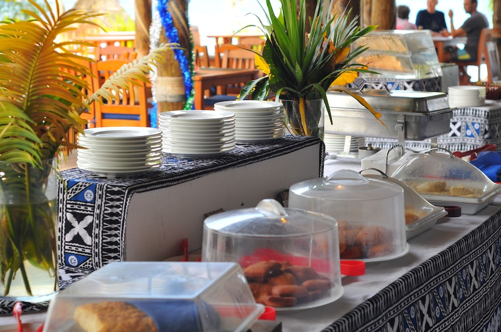 Breakfast buffet, Blue Lagoon Beach Resort