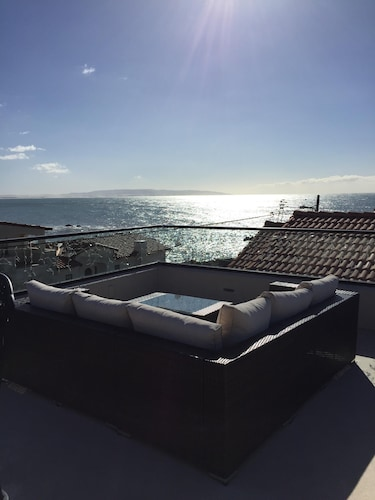 Great Ocean Views - 2 Bd/2bath Shell Beach Home 200 From Pacific Monthly Rental