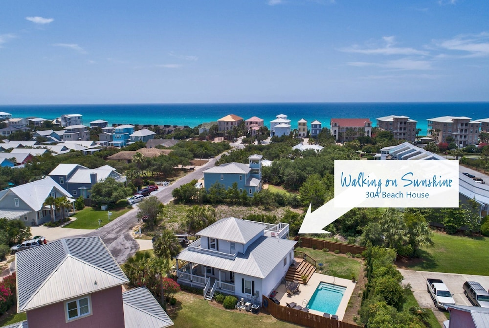30a Beach House Walking On Sunshine By Panhandle Getaways 3 5 Out Of 0