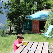 A Yurt in the Alpes de Hautes Provence