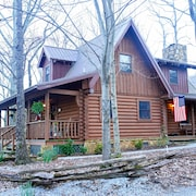 Sitting on 20 Beautiful Acres, Totally Secluded, Just 4 Miles From Helen, GA!