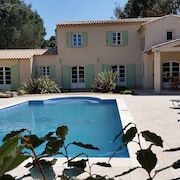 Superb Villa With Views OF THE Moors Solid IN Peace 10 MIN Golf ST Tropez