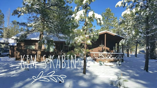 Great Place to stay Cozy 3 Bedroom 2 Bathroom Cabin Nestled in the Pines near Munds Park