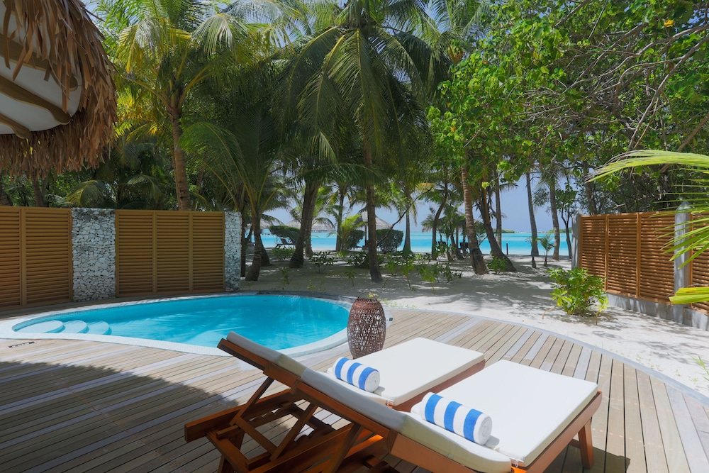 View from Room, Cinnamon Dhonveli Maldives-Water Suites