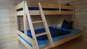 1 soverom, sengetøy av topp kvalitet og ekstrasenger (mot et tillegg)