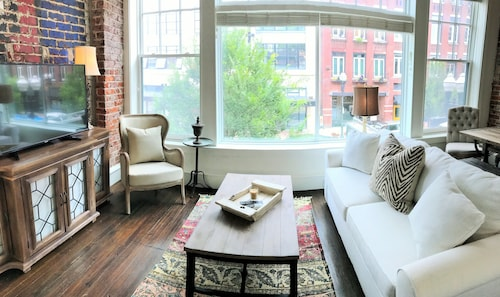 French Farmhouse Styled Loft Directly on Gay Street in Knoxville's Old City!