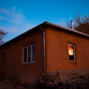 Casa de Artista Located Above the Pueblo in the Charming Village of Abiquiu, N