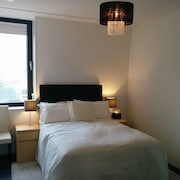 Private Double Bedroom in a Duplex Apartment, Above a Store and Near KLM HQ