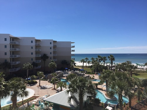 ~newly Decorated~2 King Suite! Amazing Gulf AND Pool View-free Beach Service