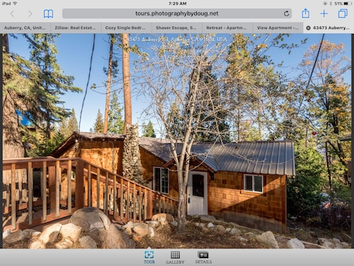Check Expedia for Availability of Treetop Cabin