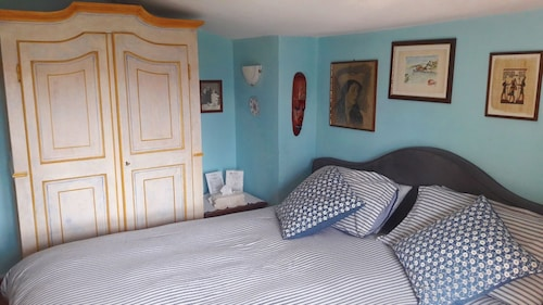 Blue Room at Villa Mirano Bed and Breakfast Piossasco - Turin - Piedmont