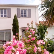 Large House 160 m2 With Garden, Near Beaches 6 Bedrooms, Quiet